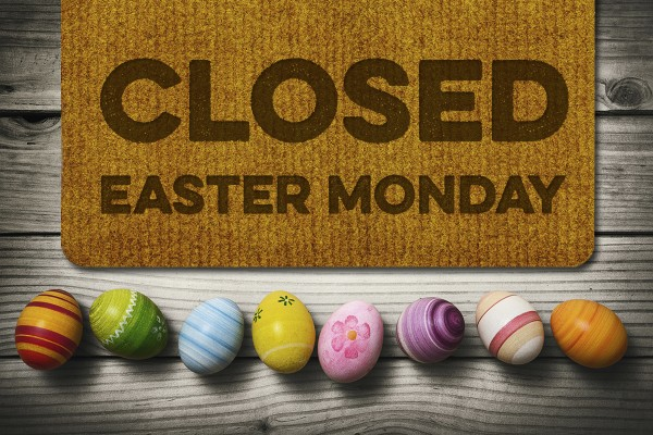 Arts Council Closed Easter Monday