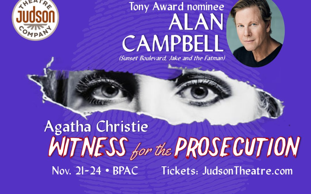 """Judson Theatre: """"Witness for the Prosecution"""""""