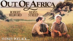 "Film:  ""Out of Africa"" @ Sunrise Theater"