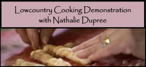 Cooking Demo: Nathalie Dupree @ SCC's Little Hall